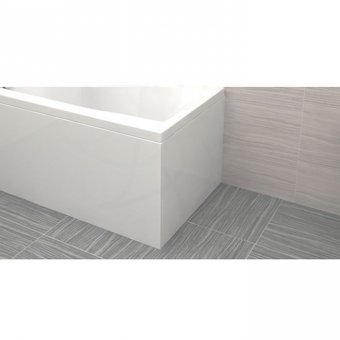 Carron End Panel Carronite 900 x 540mm in White – 23.1461 (Q4-02278)