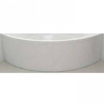 Carron Centennial Curved Front Panel in White – 23.1161 (Q4-02264)