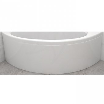 Carron Affinity/Dove Curved Front Panel Carronite in White – 23.1661 (Q4-02263)