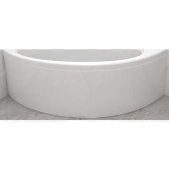 Carron Affinity/Dove Curved Front Panel in White – 23.1851 (Q4-02262)