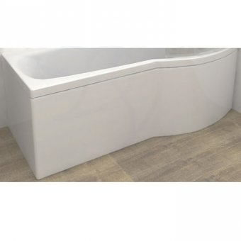 Carron Delta Shower Bath Curved Front Panel 1700 x 540mm in White – 23.1911 (Q4-02297)