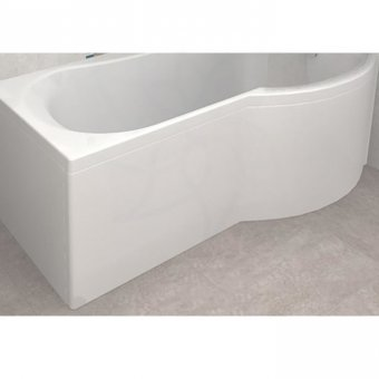 Carron Arc Shower Bath Curved Front Panel 1700 x 540mm in White – 23.3181 (Q4-02332)