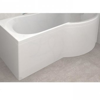 Carron Arc Shower Bath Curved Front Panel Carronite 1700 x 540mm in White – 23.3191 (Q4-02333)
