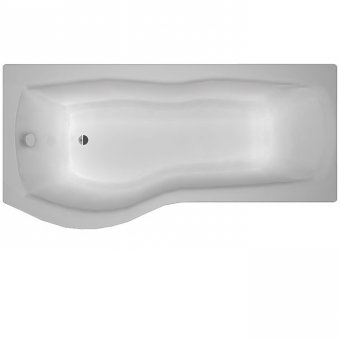 Carron Sigma 1800 x 750-900 5mm Acrylic LH Shower Bath – 23.4121L (Q4-02471)