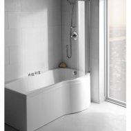 Carron Arc Curved/Sigma Showerbath Shower Screen – Q4-02350