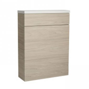Roper Rhodes 570mm Back To Wall WC Unit & Worktop in Light Elm – RRBTWFLT.LE