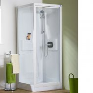 Kinedo Kineprime Glass 700mm by 700mm Corner Shower Cubicle with Pivot Door - 553CA720TTN (CA720TTN)