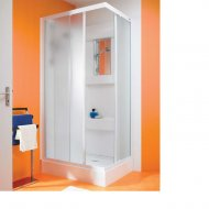 Kinedo Kineprime Glass 700mm by 700mm Corner Shower Cubicle with Sliding Door - 553CA700TTN (CA700TTN)