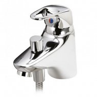 Marflow Now Once Mono Bath Shower Mixer with Kit – ONC375K1S
