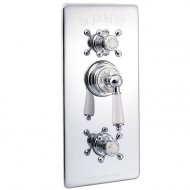 Marflow St James Traditional Concealed Thermostatic Shower Valve with Integral Flow Valves in Chrome – SJ7700-CP