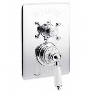Marflow St James Traditional (Dual Control) Concealed Thermostatic Shower Valve in Chrome – SJ7600-CP