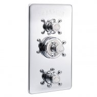 Marflow St James Classical Concealed Thermostatic Shower Valve with Integral Flow Valves in Chrome – SJ7750-CP