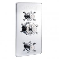 Marflow St James Classical Concealed Thermostatic Shower Valve with 2 Function Diverter and Flow Valve in Chrome – SJ7760-CP