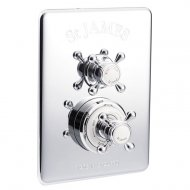 Marflow St James Classical (Dual Control) Concealed Thermostatic Shower Valve in Chrome – SJ7650-CP
