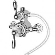 Marflow St James Traditional Exposed Thermostatic Shower Valve with 2 Function Diverter in Chrome – SJ7410-CP