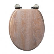 Roper Rhodes Traditional Toilet Seat Limed Oak8081LISC