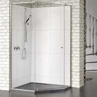 Matki-One Quintesse 1000 x 1000mm Shower Enclosure without Tray – MOQP1000SILVER