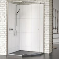 Matki-One Quintesse 900 x 900mm Shower Enclosure without Tray – MOQP900SILVER