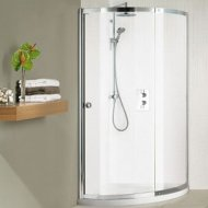 Matki Colonade Curved 825 x 825mm Shower Enclosure with Tray – NCC800