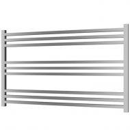 Radox Quebis 610mm x 1000mm Horizontal Heated Towel Rail in Chrome – RXQU-06101000-CH