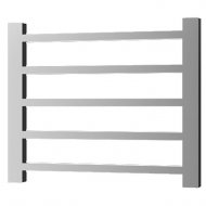 Radox Eros 625mm x 800mm Horizontal Heated Towel Rail in Stainless Steel – RXER-0625800-SS