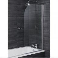 Q4 Linea Radius Luxury Bath Screen 6mm - Q4-12017