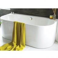 Waters Baths Natura Strait 1660 x 800mm Back to Wall Bath – WTRS-STRA-1660